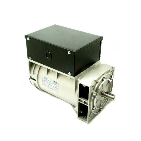 Alternador Mecc alte monofásico S16F-150/2. 5,5 KVA con eje