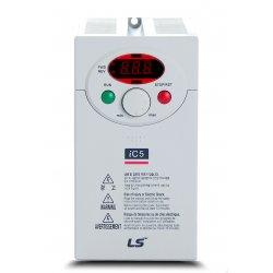 Variador de frecuencia 0,4 KW monofásico 220 V LS IC51F