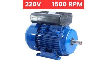 Motor monofásico 0,18 Kw / 0,25 cv arranque reforzado 1500 rpm con patas