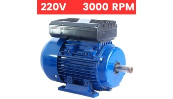 Motor monofásico 0,75 kw / 1 cv arranque medio o arranque reforzado