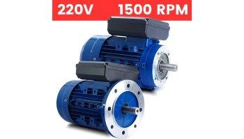 Motor monofásico 220V 0,18 KW / 0,25 CV arranque medio o arranque reforzado