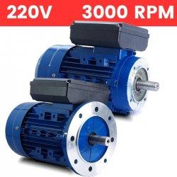 Motor monofásico 0,37 KW / 0,5 CV arranque medio o arranque reforzado