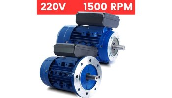 Motor monofásico 220V 0,37 KW / 0,5 CV arranque medio o arranque reforzado