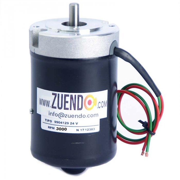 Motor de corriente continua 24V 3000 rpm 57 W. - Zuendo