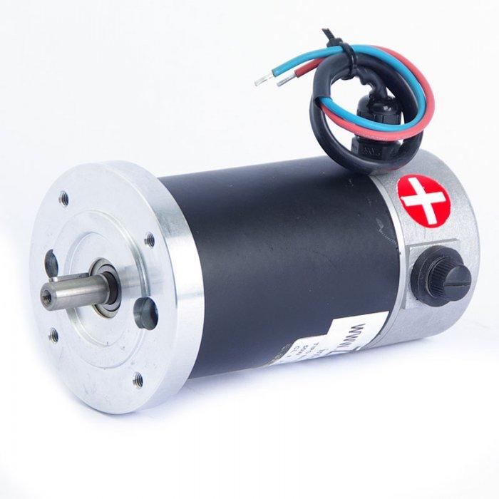Motor de corriente continua 24V 3000 rpm 50 W. - Zuendo