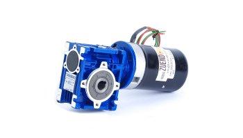 Motorreductor de corriente continua 24V 57 W 112 rpm