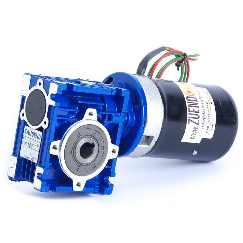 Motorreductor de corriente continua 24V 57 W 93 rpm - Zuendo