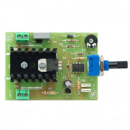 Regulador de velocidad para motores de corriente continua 24 V