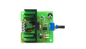 Regulador de velocidad para motores de corriente continua 24 V máximo 6 A