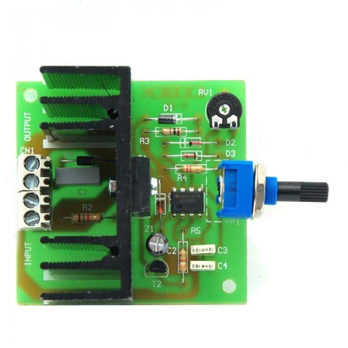 Regulador de velocidad para motores de corriente continua 24 V ...