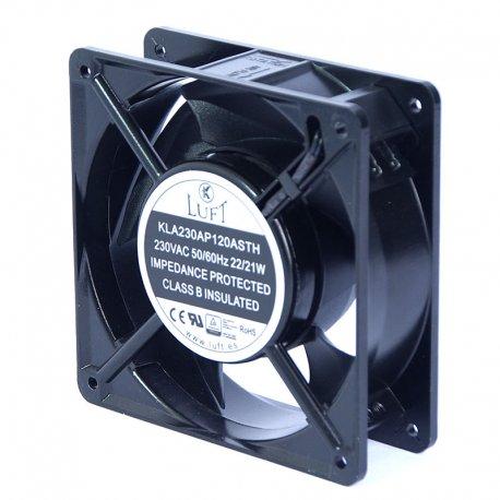 Ventilador axial 120x120 mm 24VDC / 220VAC
