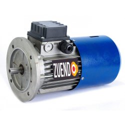 Motor autofrenante 0,09 kw trifásico brida B5/B14 3.000 rpm