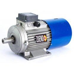 Motor autofrenante 0,9 kw trifásico patas B3 1.500 rpm