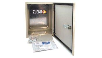 Cuadro metálico 300 mm altura con placa de montaje (Todas las medidas)