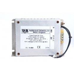 Filtro de armonicos 3 fases 480VAC tipo 3G3EV RASMI ELECTRONICS