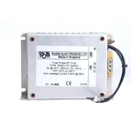 Nº 3436. Variador de frecuencia ABB trifásico 380/480V 5,5 KW