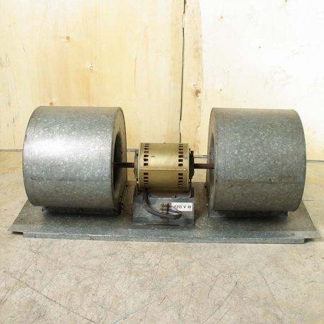 Nº 3735. Turbina Doble Metálica Trifásica 220 V