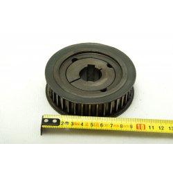 Nº1523b. Polea dentada de 100 mm con hueco de eje de 24 mm.
