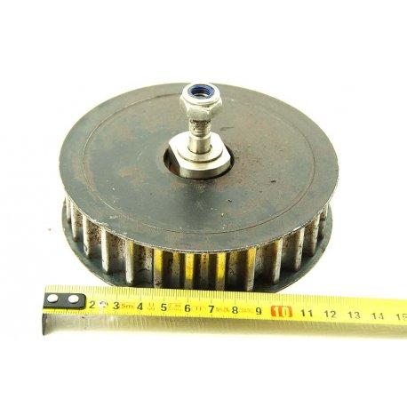 Nº1529. Polea Dentada 125mm Con Hueco De Eje De 25mm.