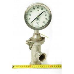 Nº 1611. Manómetro de presión relativa PSIG.