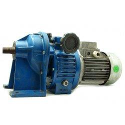 Nº125. Motor reductor con variador vueltas patas 0,75 kw