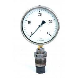 Nº 2254. Manómetro de presión de 0 a 40 BAR.