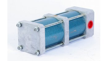 Nº3293. Cilindro neumático doble cuerpo de 25cm SYSTEM