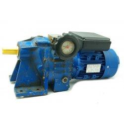 Nº125M. Motor reductor monofásico 220V con variador vueltas 0,75 kw 40-210 RPM finales