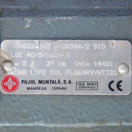 Reductora Pujol muntala LBC/040 i10