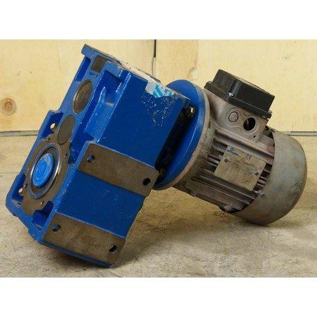 Nº 3673. Motorreductor 0,37 Kw / 0,5 Cv Trifásico 220/380 V 130 RPM