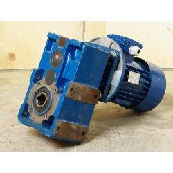 Motorreductor Trifásico 380v 0,55 Kw 61-126 RPM finales