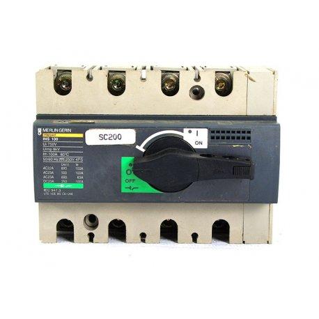 Automático Merlin Gerin 100 Amp