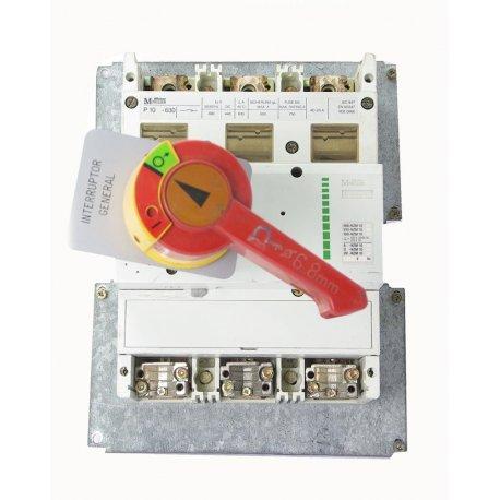 Interruptor / Seccionador De Corte En Carga De 3 Polos Merlin Gerin In630 630a