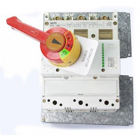 Interruptor / Seccionador De Corte Automático 3 Polos Abb Sace Sn630 Regulable 630a