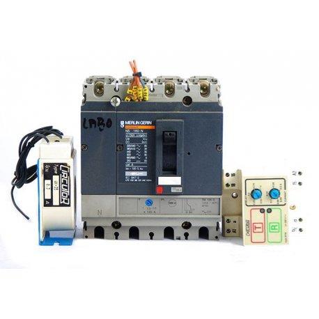 Interruptor Automático Merlin Gerin Ns100n De 4 Polos Regulable 63/80a Con Bobina De Disparo Catálogo Productos
