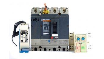 Interruptor Automático Merlin Gerin Ns100n De 4 Polos Regulable 50/63 A Con Bobina De Disparo