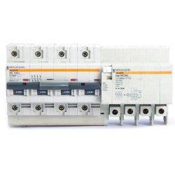 Interruptor Automático 4 Polos 16a Merlin Gerin Con Vigi