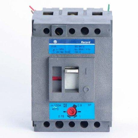 Automático 4 Polos Alsthom D160 A