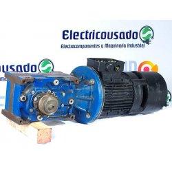 Motorreductor Trifásico 380V Lafert 0,75 Kw con electrofreno 28 RPM finales
