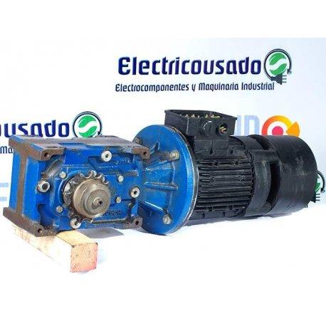 Nº 3814. Motorreductor Trifásico Lafert 0,75 Kw con electrofreno