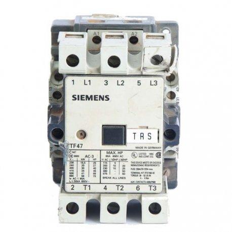 Nº 3894. contactor SIEMENS 3 polos 80 A 3TF47