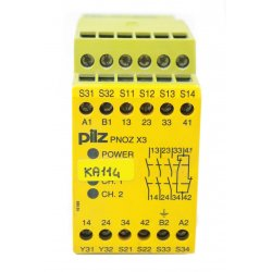 Nº 2144. Relé de seguridad de 2 canales PILZ