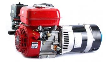 Generador eléctrico monofásico 220 v 3,5 kva a gasolina