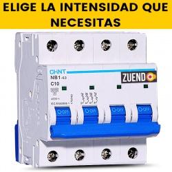 Interruptor Automático Chint 4 Polos todas las Intensidades(A)