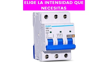 Interruptor Automático Chint 3 Polos todas las Intensidades(A)