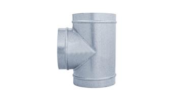 TE 90º galvanizada para tubo liso de 1 metro todas las medidas