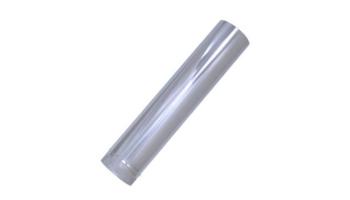 Tubo liso 1m acero inoxidable para tubo liso 1 metro todos los diámetros