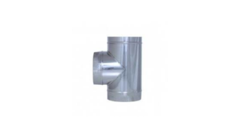 TE 90º acero inoxidable para tubo liso de 1 metro todas las medidas