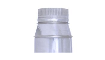 Reducción acero inoxidable todos los diámetros de entrada y salida para tubo liso de 1 metro