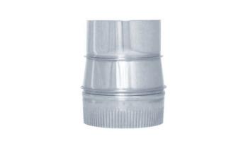 Ampliación acero inoxidable todos los diámetros de entrada y salida para tubo liso de 1 metro